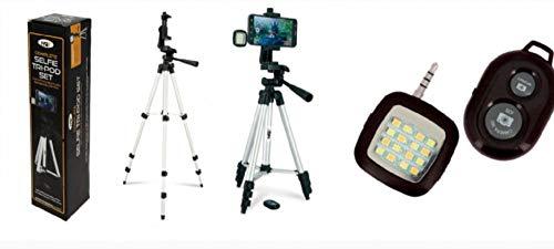 NGT Angler Selfie Stativ mit Fernbedienung Kontrolle und Nacht Licht Schutzhülle Fischen Kamera Ständer mit Abnehmbare Flash und Fernbedienung - The Easy Way To Take Bilder Ihrer mit Fernbedienung