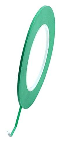 BONUS Eurotech 1BL23.32.0003/055A# Ruban de masquage ligne fine +130 Degré C, largeur 3 mm, longueur 55 m, adhésif à base de caoutchouc modifié, épaisseur 0,13 mm,