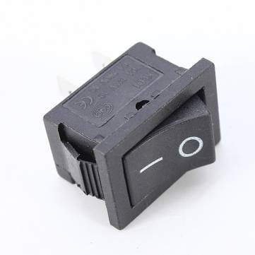 [Kostenlose Lieferung] 1Pcs 2Pin-Snap-in/aus Rocker Switch Control schwarz //1Pcs 2Pin Snap-in On/Off Rocker Switch Control (Snap In Rocker Switch)