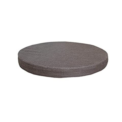 Soft Solid Color Chair Pads Indoor/Outdoor Round-Type Thick Seat Cushions,