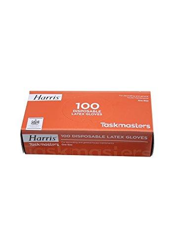 harris-taskmaster-5091-disposable-latex-gloves-box-of-100
