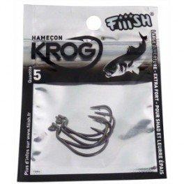 FIIISH - Hameçons Black Minnow 70 Krog Premium (x4)