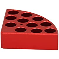 Edu-Lab 153-017 ISG - Calentador de bloque para botella de 4 ml, color rojo