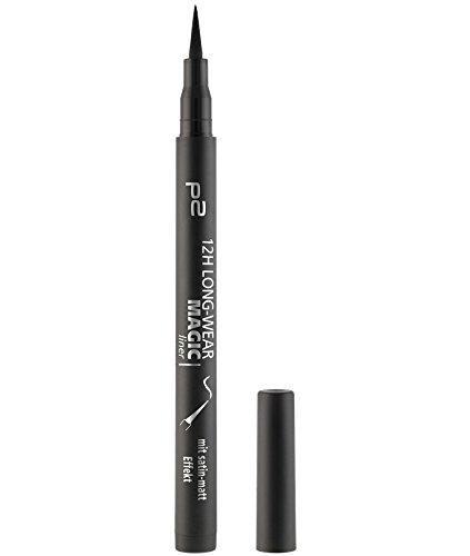 p2 cosmetics 12h Long-Wear Magic Liner 020 (Matte), 3er Pack (3 x 1 ml)