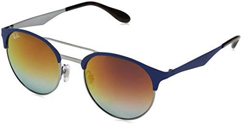 ef34a507b354 Ray-Ban RB 3545, Occhiali da Sole Unisex-Adulto, Blu (Blue