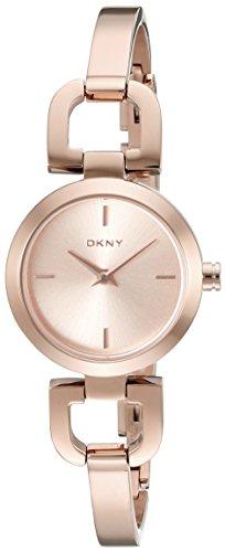 DKNY SUMMER 12 Women's Rose Gold Steel Bracelet & Case Watch ny8542