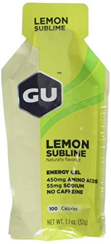 Gu energy gel lemon sublime, no caffeina, box da 24 gel da 32g
