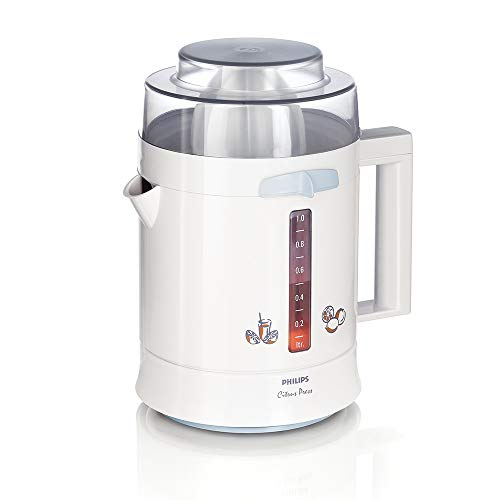 Philips HR2775 1-Litre 25-Watt Citrus Press Juicer (White)