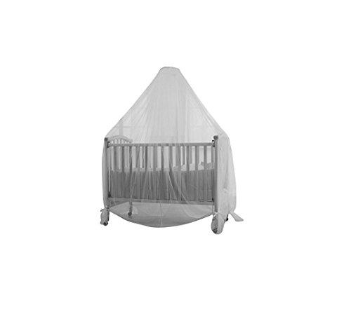 Baby Dan 3320-01-85 - Zanzariera per lettino, colore: Bianco