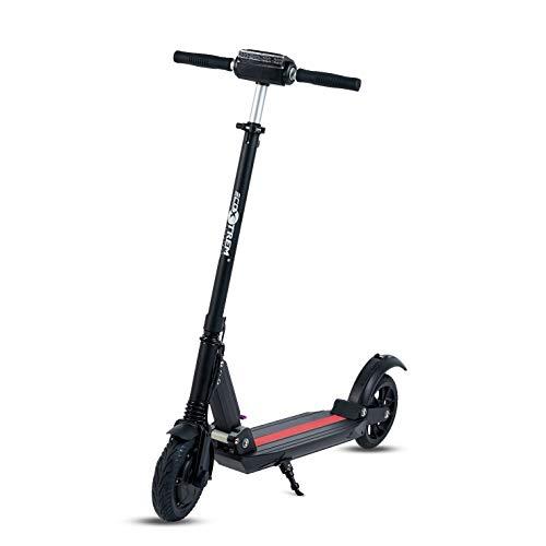 UrbanRun - Patinete eléctrico dos ruedas, plegable y ligero con luz L