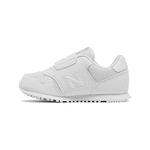 New Balance 373v1, Baskets Mixte Bébé Blanc (White)