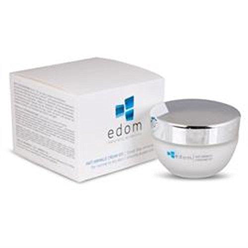 Edom - Q10 Anti Falten Creme für Männer und Frauen - Anti Aging Cream mit Mineralien aus dem Toten Meer gegen trockene Haut - Gesichtspflege für Mischhaut / normale Haut / sensible Haut - Tagescreme - Hautpflege