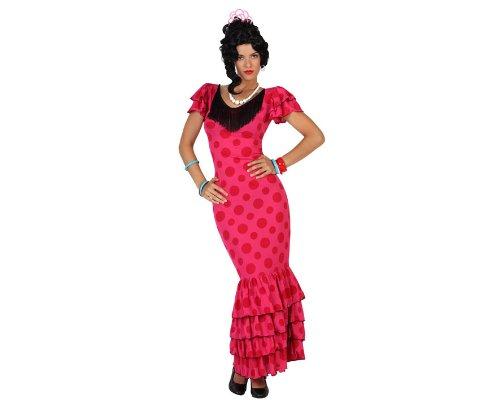 Imagen de atosa  disfraz de sevillana para mujer, talla xl 18337