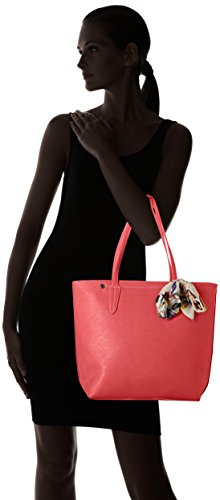 David Jones - 5719-1, Borse Tote Donna Rosa (Rose Red)