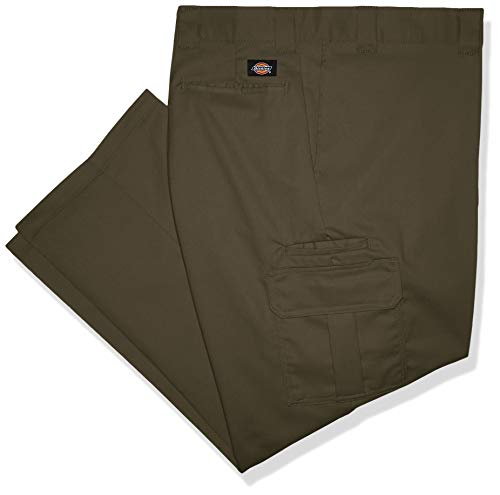 ar Straight Stretch Twill Cargo Pant Big-Tall Arbeitshose, moos, 46W / 34L ()