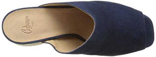 Castañer Faram 311, Damen Clogs & Pantoletten  blau Blau