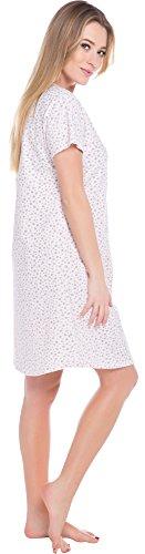 Italian Fashion IF Allaitement Chemise de Nuit Femme Liwia Mama 0114 Saumon