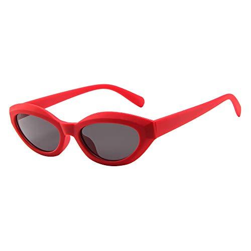 Hhyyq Cat Eye Womens Sunglasses Luxury Cat Eye Glasses Retro Female Sunglasses Glasses for Women(C)