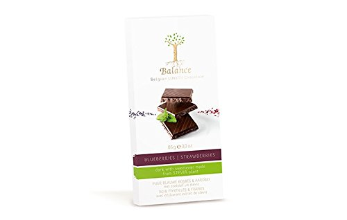 Klingele Balance - Luxury Belgian Chocolate - Dark Blueberry & Strawberry - 85g
