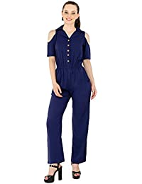 5638e40f7f2 Amazon.in  Crepe - Jumpsuits   Dresses   Jumpsuits  Clothing ...