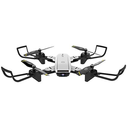 Lhcar RC Hubschrauber mit HD-Kamera Weitwinkel-Selfie-Drohne Palm Control Quadcopter mit WiFi-Kamera verbesserte Version Drohne,White