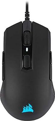Corsair M55 PRO RGB, Ambidestri Mouse Gaming Ottico, 12400 DPI Ottico Sensore, Leggera, 8 Pulsanti Programmabi