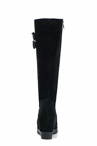 BalaMasa Abl10102, Sandales Compensées femme Noir