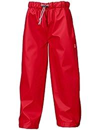 Didriksons Midjeman Kids impermeable pantalones–rojo, rojo