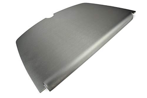 Edelstahl Grillplatte/Plancha passend für alle Grills der Weber Baureihe (Q200/Q2000 Baureihe)