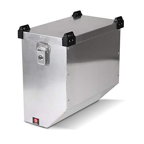 Maleta Lateral de Aluminio para Motos para Cagiva Elefant 750 Bagtecs Atlas...