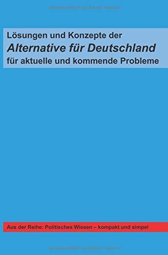 Lösungen und Konzepte der Alternative für Deutschland für aktuelle und kommende Probleme
