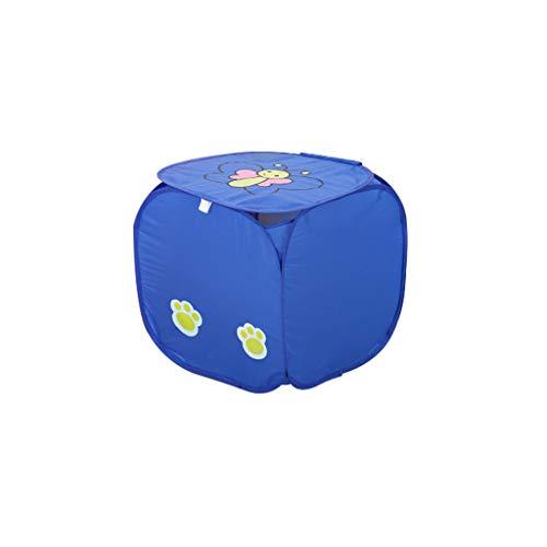 ifuli® Zusammenklappbarer Wäschekorb zum Waschen Wäschekorb Beutel Korb Netzaufbewahrung Zusammenklappbarer Korb Aufbewahrungskiste Aufbewahrungsbox Faltbox ()