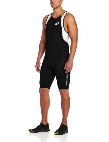Pearl Izumi Elite In-R-Cool Tri Suit Triathlon Body / Einteiler schwarz/grau/weiss 2014: Größe: L (50/52)