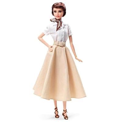 Barbie - Audrey Hepburn en Vacaciones en Roma, muñeca fahion (Mattel X8260) de Mattel