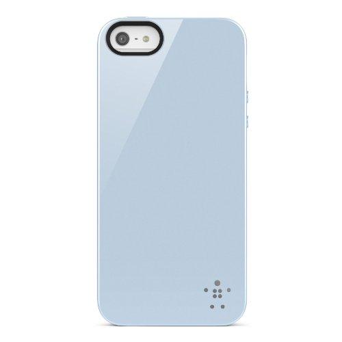 Belkin F8W158VFC01 Grip Case - Cover Custodia per iPhone 5/5S/SE, Rosso Ghiaccio