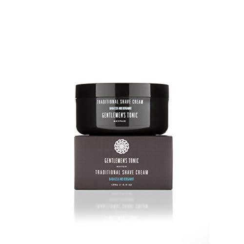 Gentlemen's Tonic Traditional Shave Cream, Rasiercreme, 125 g -