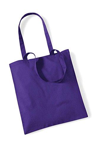 Westford Mill Unisex wm101purp WM101Promo Tasche für Leben, violett, one Size