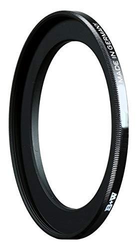 B+W 69438 Filter Adapterring Schwarz, 72 auf 58 mm