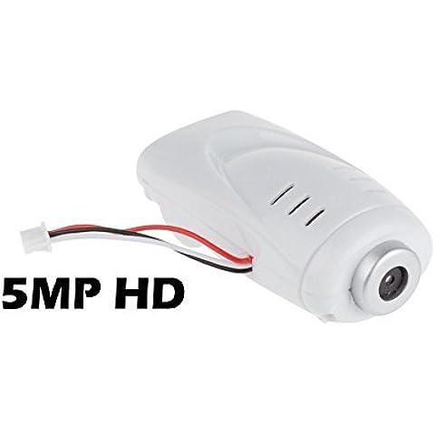 SYMA 5.0MP HD Cámara de repuesto para los modelos SYMA X5C, X5, X5C-1, X5SC, X5SW, X5HC Y XS801. Accesorio Drone Quadcopter Cámara Actualización