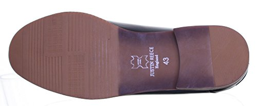 Reece Justin-dérapant à franges style Loafer Taille 6 à 12 Black N12
