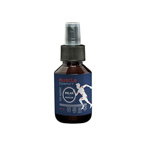 Muskelkater Spray von Muscle Comfort | 100ml Muskelkaterspray | Magnesiumöl | Muskelkater Gel & Muskelkater Kapseln & Muskelkater Salbe Alternative