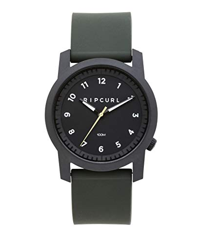 Rip Curl 2018 Cambridge Silicone Watch Military Green A3088