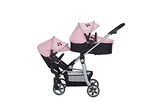 Silver Cross Cochecito para muñecas Wave: Tejido Vintage Pink. para niños y niñas de 7 a 13 años.
