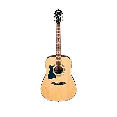 Ibanez V50NLJP-NT Jampack Westerngitarrenset Linkshänderversion Natural mit Zubehör