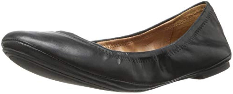 Lucky Brand Donna Emmie Piatto Nero Dimensione  9 C D US   Acquisto    Uomini/Donne Scarpa