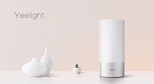 Xiaomi Original Yeelight - Lámpara para mesita de noche (control táctil, 16 millones de RVA)