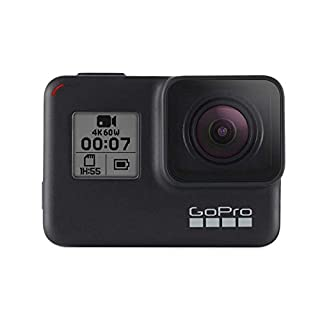 GoPro HERO7 Black - Waterproof Digital Action Camera with Touch Screen 4K HD Video 12MP Photos Live Streaming Stabilisation (B07GSVDFTQ) | Amazon price tracker / tracking, Amazon price history charts, Amazon price watches, Amazon price drop alerts