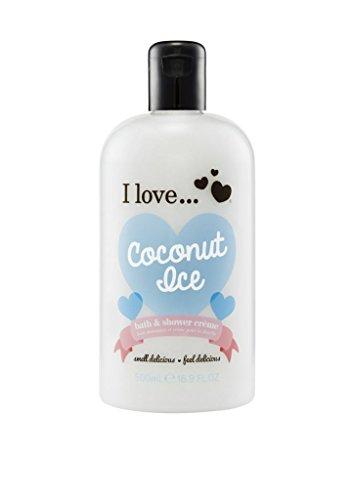 I Love bath shower 500ml Coconut Ice -
