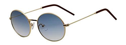 Sonnenbrille Retro Ovale Sonnenbrille Frauen Designer Mode Men Anti-Blue Licht Brille Frame Optische Gläser Uv 400 Blau Reflektierend