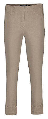 Robell -  Pantaloni  - straight - Donna Sommer Taupe